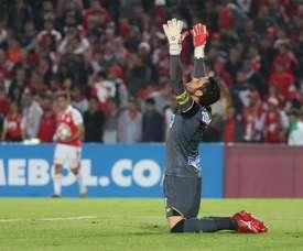 Viera se fue de LaLiga sin goles de Messi. EFE