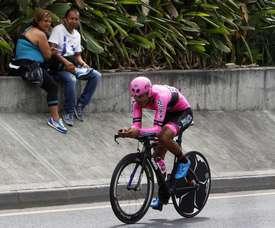 El ciclista Hernando Bohórquez. EFE/Archivo