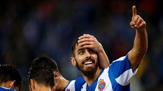 Borja Iglesias anotó su séptimo gol. EFE