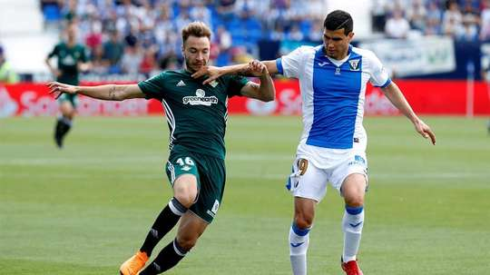 Malas noticias para el jugador del Leganés. EFE/Archivo