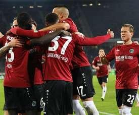 El Hannover volvió a ganar. EFE
