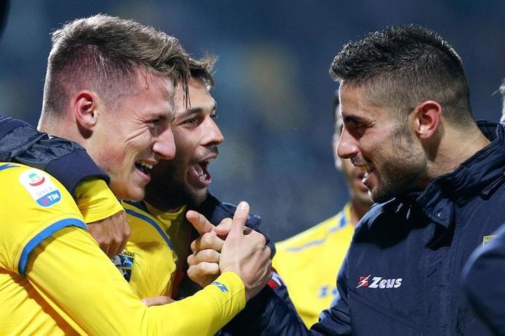 Inter vai emprestar Pinamonti ao Empoli.EFE