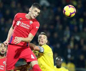 Milenkovic could be Godín's replacement at Atlético. EFE
