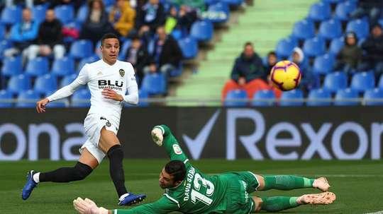 Rodrigo lleva 14 partidos sin ver puerta. EFE