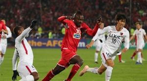 Tras el 2-0 de la ida, Kashima Antlers empató en Irán (0-0). EFE