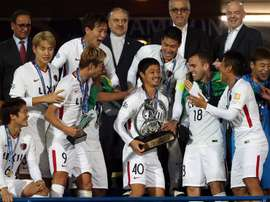 El Kashima Antlers ganó la Champions asiática. EFE