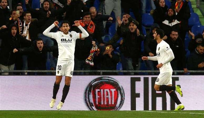 Parejo sueña con ganar la Europa League. EFE