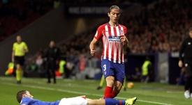 Filipe Luis n'a pas prolongé. EFE
