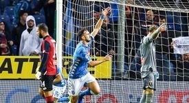 Fabián deberá ayudar si quiere acabar en el Madrid. EFE/EPA