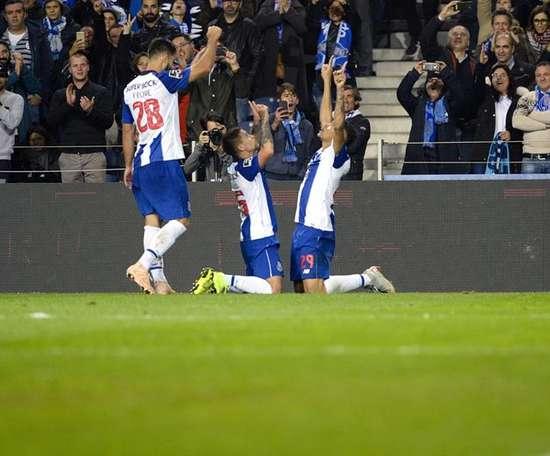 O FC Porto venceu nesta sexta-feira o Chaves por 1-4. EFE