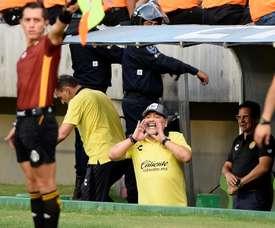 Maradona metió a Dorados en semifinales. EFE/Archivo
