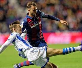 Monaco will make a bid for Diego Llorente. EFE