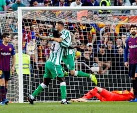 Stunning performance from Betis. EFE