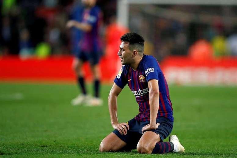 Munir se irá del Barça. EFE