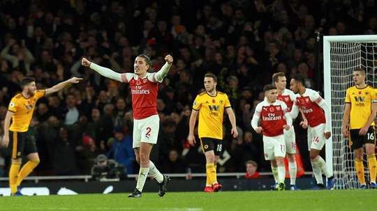 Wolves played well in London, but Arsenal escaped with a point. Twitter/Wolves