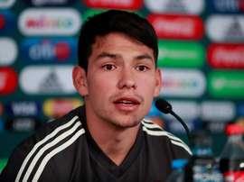 Lozano fu scartato dal Napoli. EFE