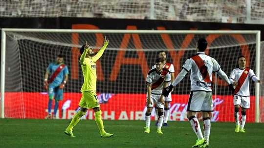 Rayo y Villarreal empataron a dos. EFE