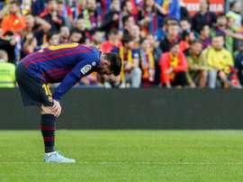 Messi pourrait aussi manquer le choc contre le Betis. EFE