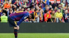Messi était titulaire. EFE