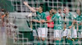 Palmeiras mantiene su liderato. EFE