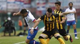 Peñarol vio ratificado su triunfo. EFE