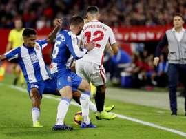 El Espanyol tardó en volver de los vestuarios. EFE
