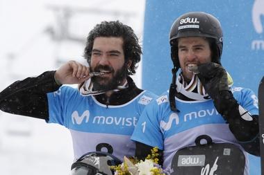 Lucas Eguibar (d) y Regino Hernández. EFE/Archivo