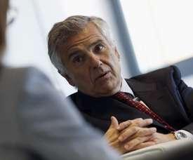 El español Juan Antonio Samaranch, vicepresidente del COI. EFE/Archivo