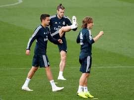 Bale n'a rien pu faire pour sortir sa sélection du pétrin. EFE
