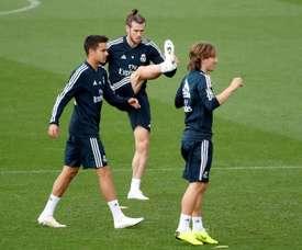 Bale no pudo anotar con Gales. EFE