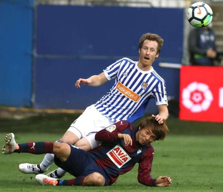 Aplazado el Eibar-Real Sociedad. EFE