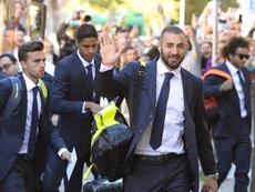 El entorno de Benzema le ha dado más de un disgusto al delantero. EFE/Archivo