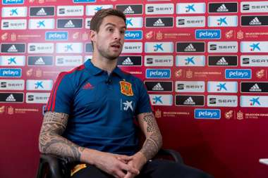 Iñigo Martinez spoke out in defence of his compatriot. EFE