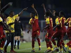Ghana comenzó arrasando. EFE
