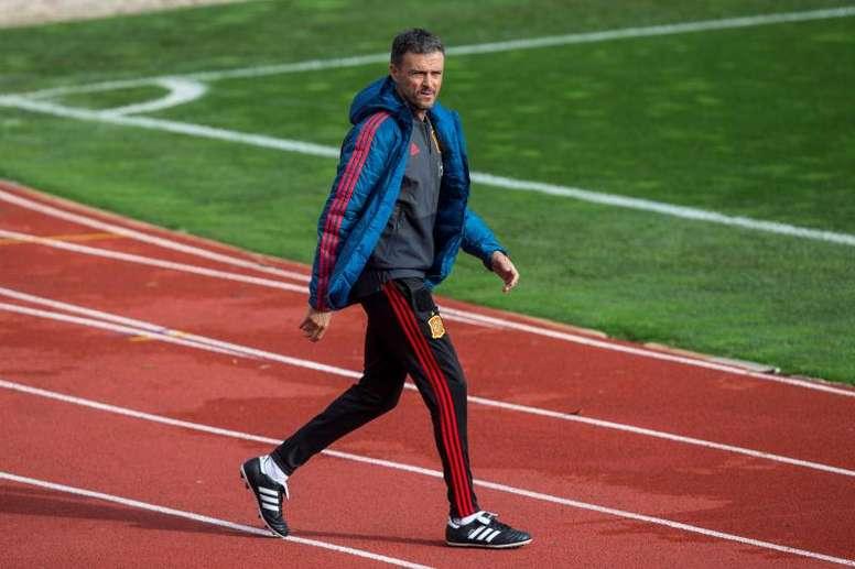 Luis Enrique revolucionó de nuevo la Selección Española. EFE