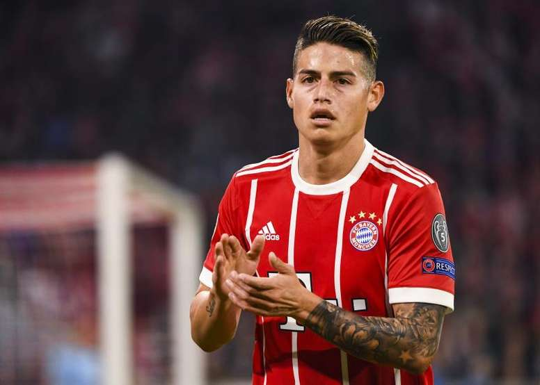 James Rodriguez's time at Bayern looks to be ending soon. EFE