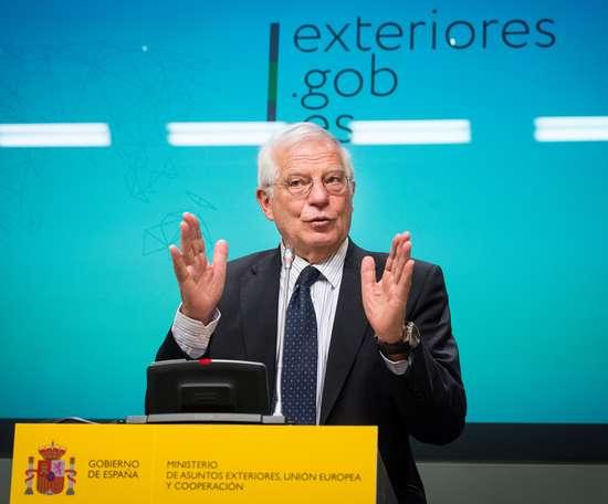El ministro de Asuntos Exteriores, Josep Borrell. EFE/Archivo
