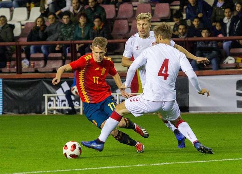 Dani Olmo is on big clubs' radar after a great Euro U21 championship. EFE