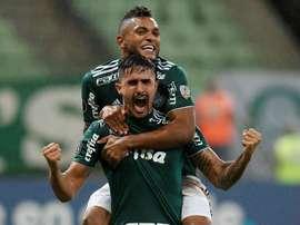 Palmeiras ya roza el Brasileirao. EFE/Archivo
