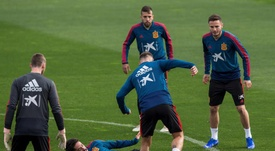 Nadie quiere perderse el duelo entre Croacia y España. EFE