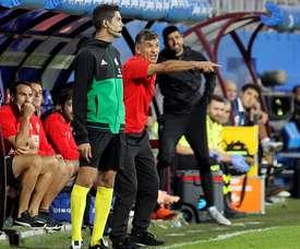 El Eibar derrotó al Huesca. EFE/Archivo