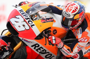 El piloto español de MotoGP Dani Pedrosa. EFE/Archivo
