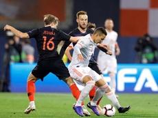 Croacia amaneció con las mieles del triunfo de su selección sobre 'la Roja'. EFE