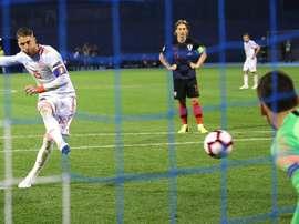 L'Espagne a perdu face à la Croatie. EFE