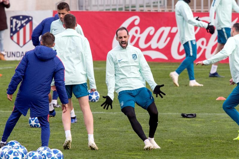 Juanfran, Lesionado para el Atlético de Madrid - Barcelona | Parte Médico