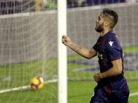 El Levante quiere vencer al Huesca tras el 'break'. EFE