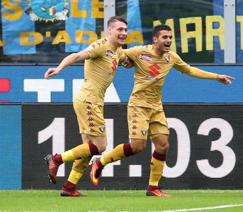 La racha que hace peligrar la Champions para Roma, Inter y Milan. EFE