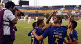 Sportivo Luqueño no tiene piedad. EFE/Archivo