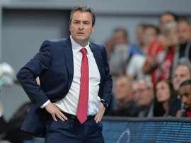 El entrenador Sergio Valdeolmillos. EFE/Archivo
