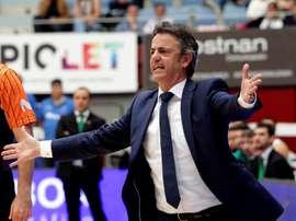 El entrenador Porfirio Fisac. EFE/Archivo